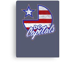 DC Capitals - Retro America Canvas Print