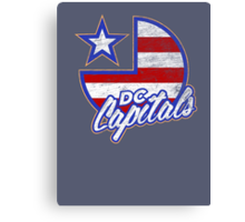 DC Capitals - Retro America Canvas Print