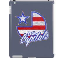 DC Capitals - Retro America iPad Case/Skin