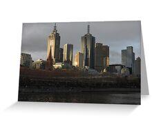 Postcard Metropolis  Greeting Card