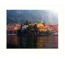 Town of Varenna Art Print