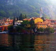 Town of Varenna by SylviaCook