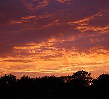 Evening Sky over Fleetwood by Mark  Jones