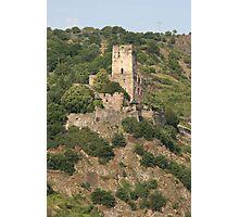 Burg Gutenfels Photographic Print