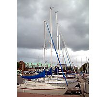To Sail or Not to Sail.... That is the Question!!!! Photographic Print