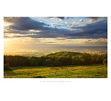 View from Dovers Hill, Gloucestershire Photographic Print