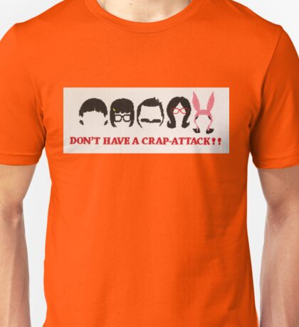 Belcher Family Crap Attack Unisex T-Shirt