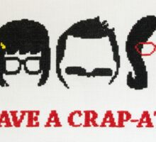 Belcher Family Crap Attack Sticker