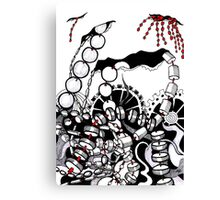 Beads Of Worry Canvas Print