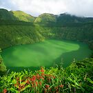 Santiago lake, Azores by Gaspar Avila