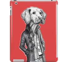 Vizsla (RED) iPad Case/Skin