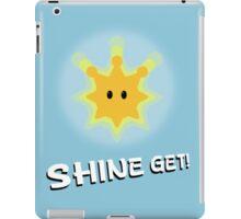 Shine Get! iPad Case/Skin