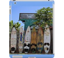 Upcountry Boards iPad Case/Skin
