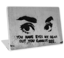 Worthless eyes Laptop Skin