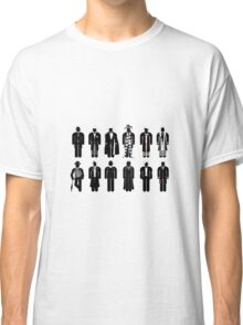 Doctor Who - Timelord Recognition guide - laptop Classic T-Shirt