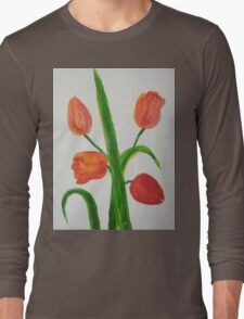Just Tulips Long Sleeve T-Shirt