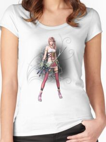 Fantasy XIII-2 - Serah Farron Women's Fitted Scoop T-Shirt