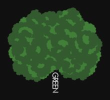 GOING GREEN TREE by webart