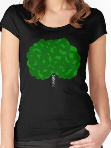 GOING GREEN TREE Women's Fitted Scoop T-Shirt