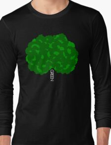 GOING GREEN TREE Long Sleeve T-Shirt