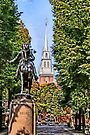 Revere and North Church by DJ Florek