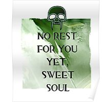 No Rest Poster