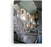 Inside Old North Church Canvas Print