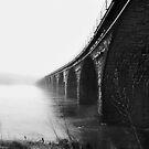 Rockville in fog. by Jeff  Wiles