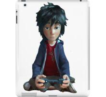 transparent sitting duckling hiro hamada iPad Case/Skin