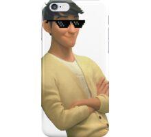 transparent tadashi hamada with swag iPhone Case/Skin