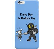 BioShock – Every Day is Daddy's Day Poster (Black) iPhone Case/Skin