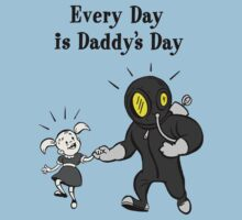 BioShock – Every Day is Daddy's Day Poster (Black) by PonchTheOwl