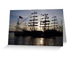 Tall Ship... Greeting Card