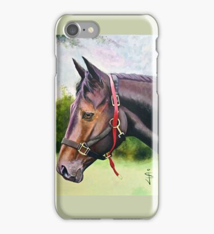 Horse and Tack iPhone Case/Skin
