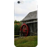 Vermont Grist mill iPhone Case/Skin
