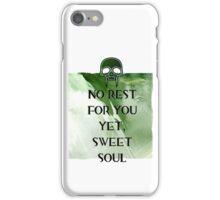 No Rest iPhone Case/Skin
