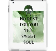 No Rest iPad Case/Skin