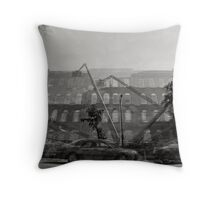 Armory of the Third Regiment of Pennsylvania Infantry Throw Pillow