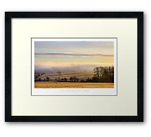 View from Broadway Tower, Worcestershire Framed Print