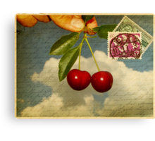 Cherry In The Sky Canvas Print