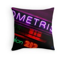 Neon Signs Throw Pillow
