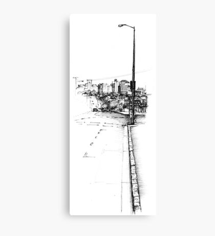 Paddington Streetscape Canvas Print