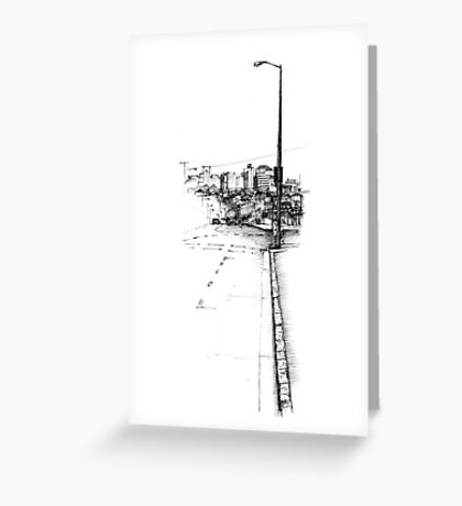 Paddington Streetscape Greeting Card