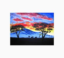 African sunset painting T-Shirt