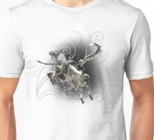 Final Fantasy XIII-2 - Lightning (Claire Farron) and Odin Unisex T-Shirt