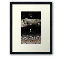 Odyssey After Stanley Kubrick Framed Print