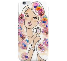 in flowers iPhone Case/Skin