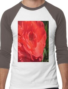 Heart of the Rose Tee Men's Baseball ¾ T-Shirt