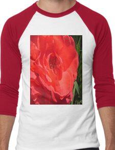 Heart of the Rose Tee Men's Baseball ¾ T-Shirt