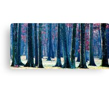 A Gathering of Trees Canvas Print